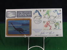 1991 The Monster of the Loch Ness Adrian Shine Signed Gold FDC RDL116