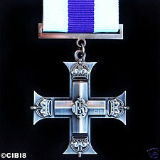 MILITARY CROSS GEORGE V MEDAL AWARD FOR GALLANTRY ALL RANKS RAF RN RM REPRO