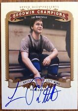 2012 Upperdeck Goodwin Champions Luc Robitaille Auto Autograph SP