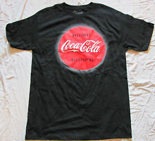 LARGE MENS T-SHIRT GRAPHIC COCA COLA COKE SOFT DRINK POP SODA ENJOY NEW TAGS!!!!