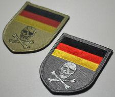 ELITE KSK SPECIAL WARFARE GERMAN Deutsches Heer Bundeswehr FLAG SSI: PUNISHER
