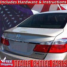 2013-2017 Honda ACCORD 4Dr Sedan Factory Style Lip Spoiler ABS UNPAINTED