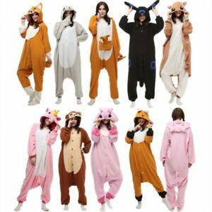 Adult Unisex Pajamas Kigurumi Animal Pyjama Cosplay Costume Romper Hot Sale
