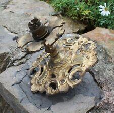 ancien plafonnier en bronze lustre