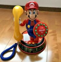 SUPER MARIO Bros. Voice Activatio DIAL PHONE Figure Nintendo From Japan F/S