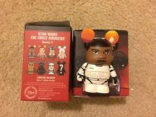 Star Wars Force Awakens Vinylmation Disney Finn Variant Chase Stormtrooper RARE!