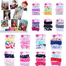 3PC/Set Kids Headband Girls Baby Elastic Bowknot Accessories Hairband Set