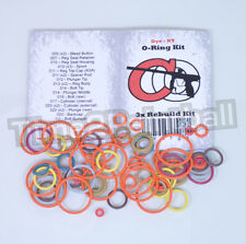 Dye NT10 NT11 Color Coded 3x Oring Rebuild Seal Kit *FREE SHIPPING O Ring O-ring