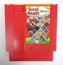 NEW Super Game 360-in-1 (8-Bit NES Nintendo) Red Video Game Cartridge