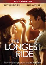 The Longest Ride (DVD, 2015) Scott Eastwood, Britt Robertson NEW
