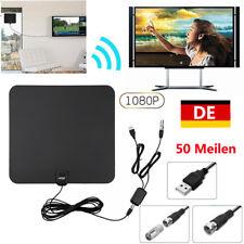 Verstärker DVB-T Antenne Aktive DVB-T2 Innenantenne HDTV Fernseher Zimmerantenne