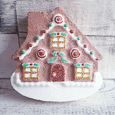 Gingerbread House Mould Bath Bomb Jelly Soap Plaster Model Wax Christmas Mold UK