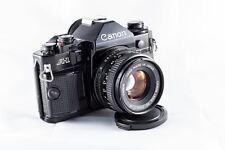 Canon A-1 + Canon FD 50mm f/1.8  - prêt à utiliser