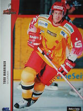 136 Todd Warriner Hannover Scorpions DEL 2005-06