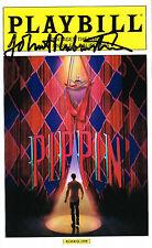 Pippin OBC Tour SIGNED Playbill John Rubinstein COA