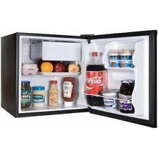 1.7 cu ft Refrigerator Black Door Freezer Mini Fridge Side Compact Cooler NEW