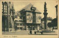 Ansichtskarte Erfurt Rathaus 1929