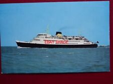 POSTCARD SEALINK FERRY PRINSES PAOLA OOSTENDE - DOVER
