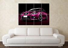 Large Seat Leon Cupra R F Turbo JDM 16V WRC Wall Poster Art Picture Print
