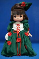 "Snow White Christmas Magic 12"" Vinyl Doll Disney Precious Moments 8222 Signed"
