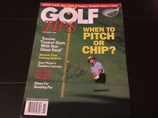 Tom Kite Golf Autograph Golf Tips Magazine Cover US Open Feb 1994