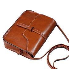 Women Small Handbag Leather Shoulder Bag Lady Satchel Messenger Purse Free P&P