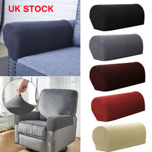Pairs Removable Arm Stretch Sofa Couch Chair Protector Armchair Covers Armrest