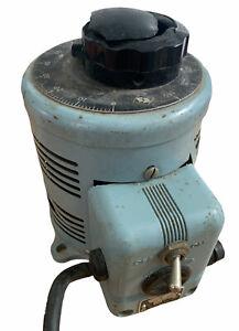 Vintage Powerstat Variable AutoTransformer Type 116 For Parts Or Restoration
