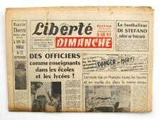 Liberté  - 1963 - Quotidien du parti Communiste - Avion Béthune