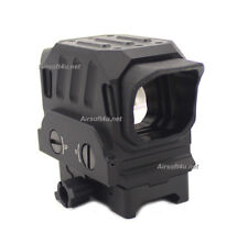 EG1 Optical Reflex Red Dot Sight Holographic Sight Fit 20mm Rail In Black