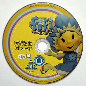 Fifi And The Flowertots Fifi's In Charge (DVD) Disc Only - Kids - (2005)