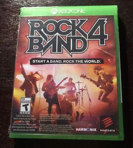 New Sealed Rock Band 4 (Xbox One, 2015) Game ONLY - NO Instruments