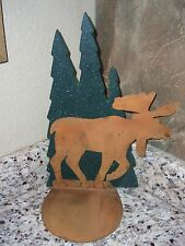 Moose Table Candle Holder
