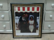 Lunchtime Lovers by Jack Vettriano Large Deluxe Framed Art Print Romantic