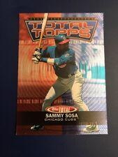 2003 Topps Total #TT27 SAMMY SOSA Chicago Cubs