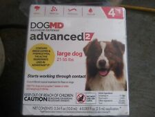Dog Md Advanced 2, Large Dog, Flea Topical, 4 Doses, 4 Month Supply