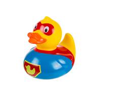 SUPER EROE Bath Duck Super giocattolo Anatra Gomma anatre Ducky BAGNO GIOCATTOLI Novità Anatra