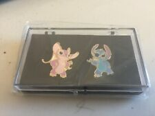 Disney Lilo & Stitch TV pin set Angel & Stitch New
