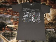 """GAME OF THRONES T Shirt Small Gray Continent Of Westeros Map Junk Food Tee W:18"""""""