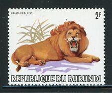 BURUNDI MNH Wildlife FAUNA Selections: Scott #589 2Fr Lion CV$4+