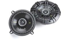 "KICKER 5.25"" INCH CAR MOTORCYCLE ATV SPEAKERS FOR HARLEY DAVIDSON REAR SPEAKERS"