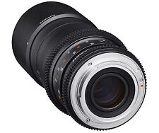 Samyang 100mm T3.1 VDSLR Ed UMC Macro for Sony E Stock From EU