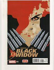 BLACK WIDOW #15 1st PRINT (2014 Series), NM, Marvel Comics, April 2015