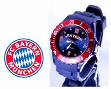 Bayern Armbanduhr + FC Bayern München Bierdeckel Neu ( W )