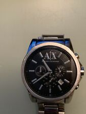Armani exchange watch men black AX2084
