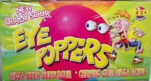 ZED CANDY Sweets EYE POPPERS JAWBREAKERS BUBBLE GUM  45