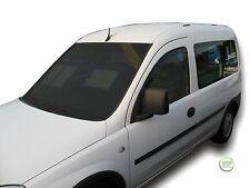 VAUXHALL COMBO C mk2 2002-2012 Set di Deflettori vento anteriore 2pc HEKO colorata