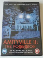 AMITYVILLE II: THE POSSESSION - DVD - New Sealed