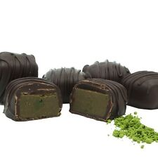 Philadelphia Candies Japanese Matcha Green Tea Meltaway Truffles, Dark Chocolate
