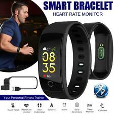 Smart Watch Band Fitness Tracker Activity Sport Heart Rate Step Counter Pedometr